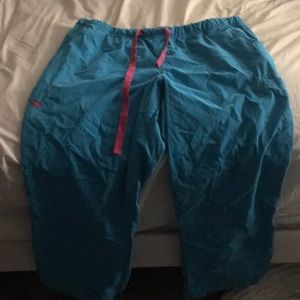 Scrub pants med couture